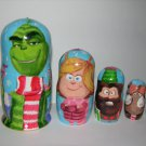 The Grinch nesting doll