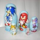 Sonic the Hedgehog nesting doll