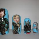 How to train a dragon nesting doll