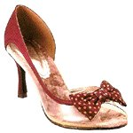 Vincci HEEL WITH RIBBON (RED)