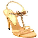 Vincci T-BAR HEEL (CREAM)
