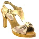Vincci T-BAR HEEL (GOLD)