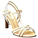Vincci STRAPPY T-BAR HEEL (WHITE)