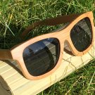 Handmade Wooden Sunglasses. Men's/Women's Bamboo Sunglasses with Polarised Lenses.