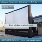 Inflatable Projection Screen. Giant inflatable outdoor movie projection screen and frame.