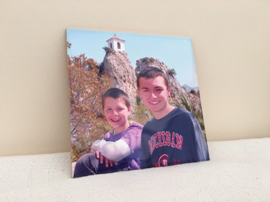 Personalized Photo Tile. Personalised Ceramic Tile with your Photo.