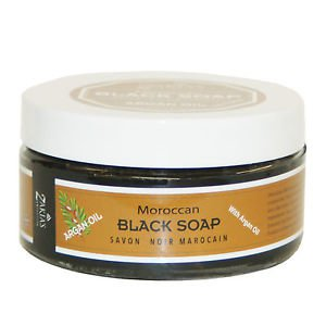 Moroccan Black Soap and Kessa Exfoliating Glove  Many Scents available!