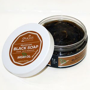 Moroccan Black Soap - The Healing Soap 7 scents available Most with Argan Oil!