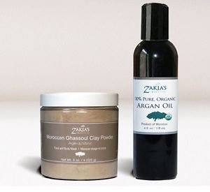 Organic and all Natural Skin Miricle! Moroccan Mask and Organic Argan Oil