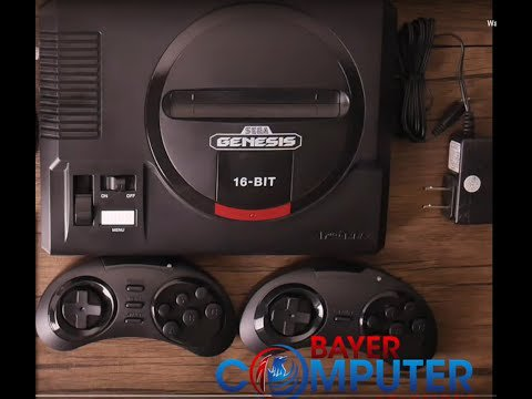 SEGA Genesis Flashback 2018 Classic Game Console With 85 Built-in Games