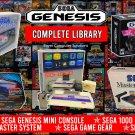 SEGA Genesis 16 bit mini Console 2019 with 1700 + Classic Games + 2 Controllers