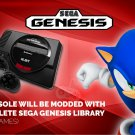 SEGA Genesis Game Console Service | Over 1700 Classic SEGA Games