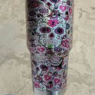 SUGAR CANDY SKULLS OZARK TRAIL 30 OZ TUMBLER
