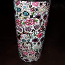 20 oz ozark trail  tumbler sugar candy skull