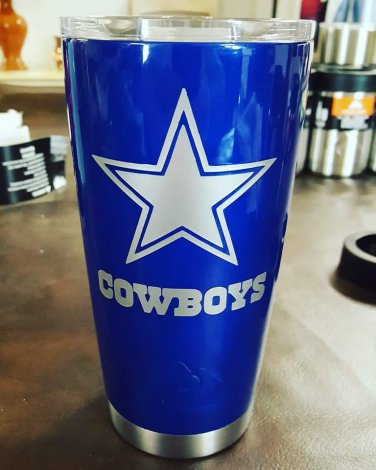 20 oz ozark trail custom dallas cowboys tumbler