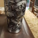 30 oz ozark trail silver with skulls