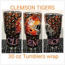 Clemson tigers 30 oz tumbler