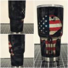 Flag punisher 30 oz tumbler