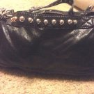 "Butter Soft Black Lambskin Barrel Hobo M 12"" 5"" 6"" 20"" 8"" ID Removable Straps"