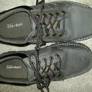 Mens Dexter Comfort Boat Shoes - brown - size 7.5 - 135112 -man made materials