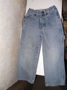 Boy's Size 4 Arizona Carpenter Jeans Light Wash Slim Child Toddler EUC