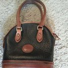 Dooney and Bourke Mini Bucket Bag Black Pebblegrain  EUC