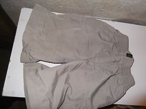 Osh Kosh B'Gosh Kids Boys Size 4 100% Nylon Walking Athletic Beige Shorts EUC