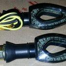 2x's Universal Turn Signals Indicator For Kawasaki Ninja ZX 6R 7R 9R 10R 12R 14R