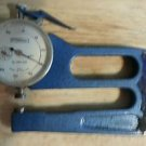 """FOWLER Dial Indicator .001"""" Graduations ENGLAND Handheld Gauge Lever With Case"""