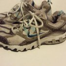 Women's Nike Athletic Shoes 7.5 Max Air Gray Blue Pre Owned Med (B,M)