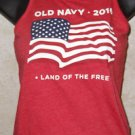 New! Girls Red White Blue USA FLAG 2016 Tank Top OLD NAVY Size S/P (6-7)