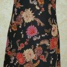 Women's  Jrs. Ruby Rox Size M Multi Color Floral Sleeveless Dress Below Knee