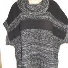 Brand New! Coldwater Creek Thick Chunky Knit Short Sleeve Oversized Sweater L
