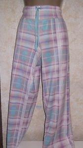 New! STEVE MADDEN Pajama Bottoms Sleepwear Multi Color Madras L Soft Comfortable
