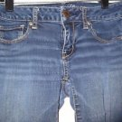 "Women's AMERICAN EAGLE Super Stretch Jeans Sz 4 Medium Wash 28"" Waist 31"" Inseam"