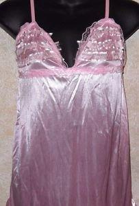 Brand new! pink babydoll nightgown & gstring size xxl fits like medium