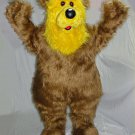 Brown And Yellow Large And Woolly Bear Forest Mascot SpotSound Canada
