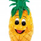 Yellow Pineapple Fruit Mascot SpotSound Canada With Large Eyes And Mouth