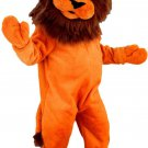 Lion Animal Plush Mascot SpotSound Canada With Orange Body And Brown Hair