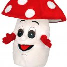 Red And White Amanitas Mushroom Mascot SpotSound Canada With White Spots