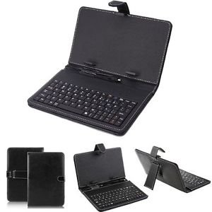 """(15) Universal 7"""" inch Tablet PC Case and Keyboard for Windows and Android Lot"""