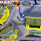 Suzuki FR+R Ceramic Brake Pads GSXR 600 750 2006-10  1000 2007-08 1300 2008-13