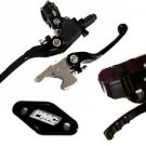 Lever & Thumb Throttle Set Brake / Clutch / Black YAMAHA YFZ450 2007-2014