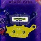 CERAMIX CERAMIC REAR BRAKE Pads Honda VTX CBR CB Yamaha R1 R6 Suzuki GSF SV DL +