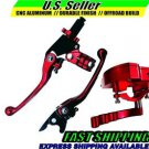 Suzuki ATV Throttle & Lever Set Clutch Brake RED LTZ400 LTR450 LTZ250 *NICE*
