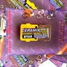 YAMAHA HONDA FULL BRAKE PADS SET CERAMIC-CERAMIX RAPTOR YFM350 660 TRX400 300 A+