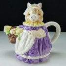 Heritage Mint Ltd  Mrs. Pig Decorative Teapot with Original Box