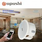 Oupushi Bluetooth Speaker 110V ABS Active Wall Speaker PA Sound System 6.5 Inch