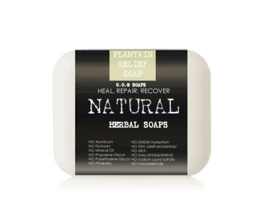 Plantain Psoriasis Comfort Soap Bars (Value 2 Pack)