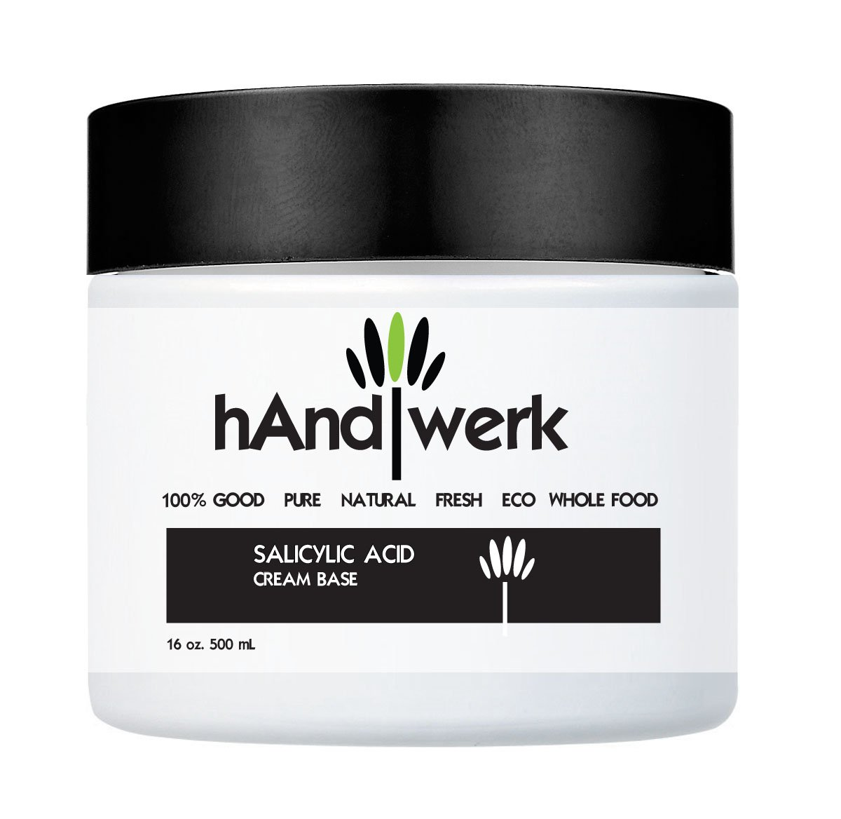 Handwerk� Salicylic Acid Anti  -Acne, Anti - Psoriasis, Anti - Dermatitis Cream Base